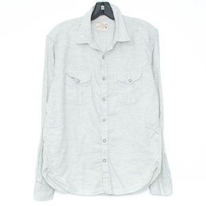 Lucky Brand Mens Shirt Button Up Medium CA